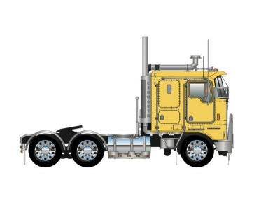 Iconic Replicas 1:50 Kenworth K100G Prime Mover - Yellow