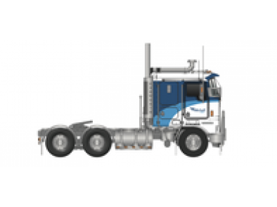 Iconic Replicas 1:50 Kenworth K100G Prime Mover - Mitchell Fuel