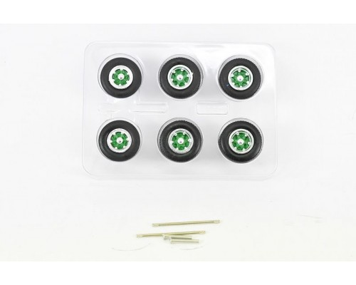 1:50 Scale Spider Wheel Sets Green by Iconic Replicas