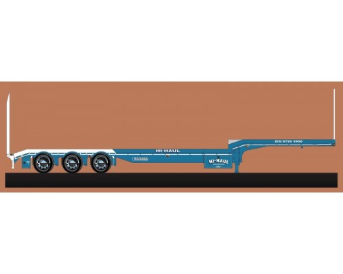 Iconic Replicas 1:50 Extendable Dropdeck Trailer and Dolly - Hi-Haul