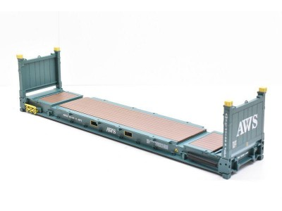 1:50 Scale 40Ft Flat Rack Shipping Container - AWS
