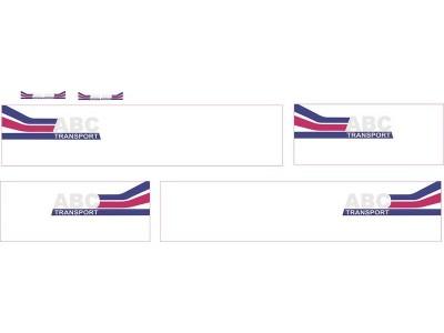 1:50 Decals - Jays Custom B-Double Trailer Set - ABC Transport