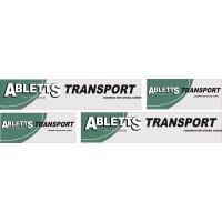 1:50 Decals - Jays Custom B-Double Trailer Set - Abletts Transport