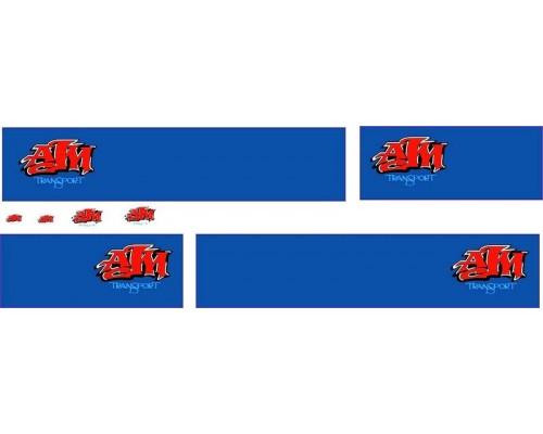 1:50 Decals - Jays Custom B-Double Trailer Set - AJM Transport
