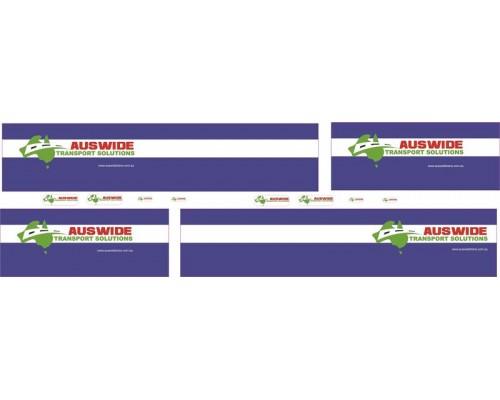 1:50 Decals - Jays Custom B-Double Trailer Set - Auswide Transport