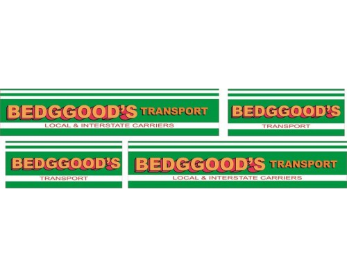 1:50 Decals - Jays Custom B-Double Trailer Set - Bedggoods Transport