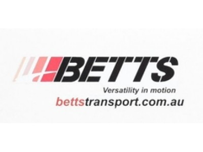 1:50 Decals - Jays Custom B-Double Trailer and Cab Set - Betts Transport