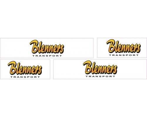 1:50 Decals - Jays Custom B-Double Trailer Set - Blenners Transport