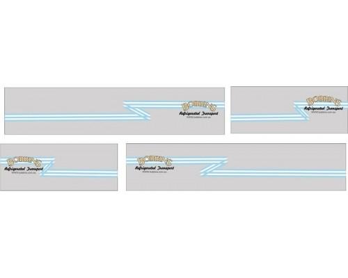 1:50 Decals - Jays Custom B-Double Trailer Set - Bobbins Transport