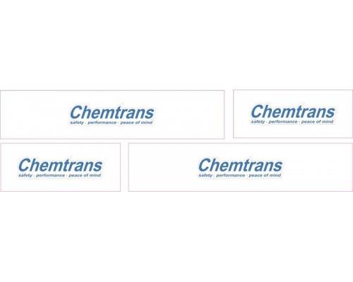 1:50 Decals - Jays Custom B-Double Trailer Set - ChemTrans 2