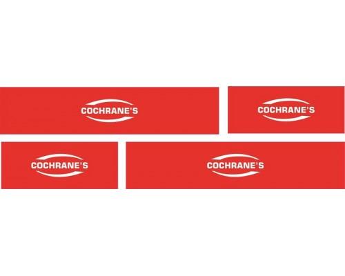 1:50 Decals - Jays Custom B-Double Trailer Set - Cochrane's Transport