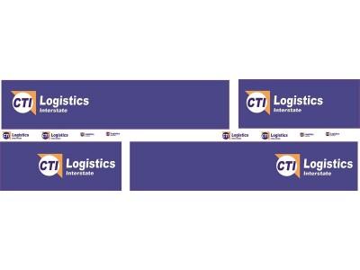 1:50 Decals - Jays Custom B-Double Trailer Set - CTI Logistics Interstate