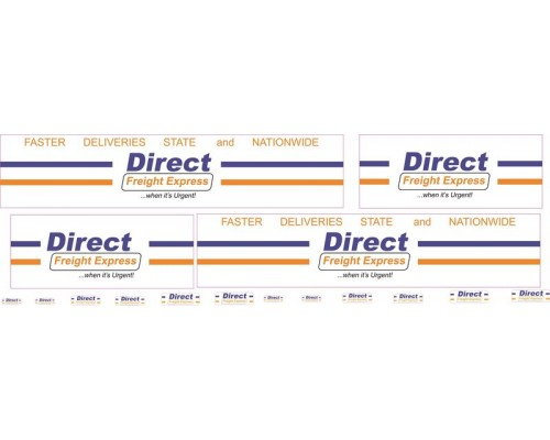 1:50 Decals - Jays Custom B-Double Trailer Set - Direct Freight Express