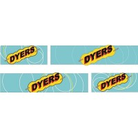1:50 Decals - Jays Custom B-Double Trailer Set - Dyers Transport