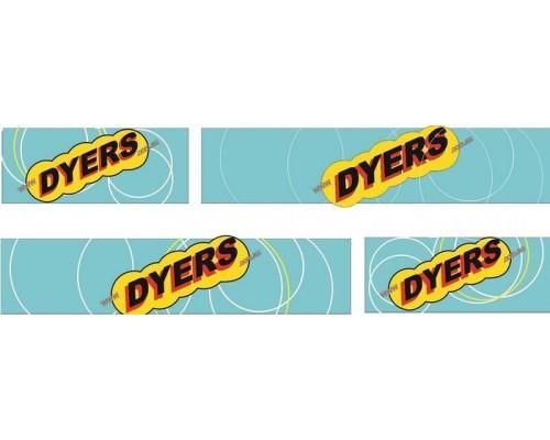 1:50 Decals - Jays Custom B-Double Trailer Set - Dyers Transport