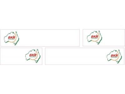 1:50 Decals - Jays Custom B-Double Trailer Set - GKR Transport