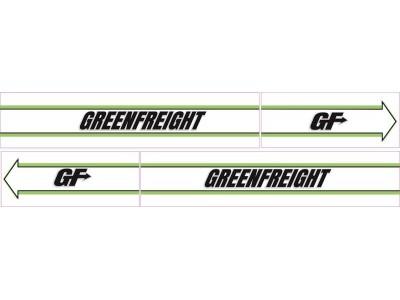 1:50 Decals - Jays Custom B-Double Trailer Set - Greenfreight