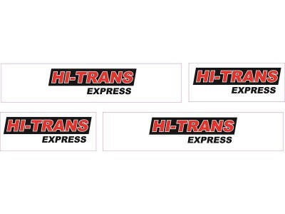 1:50 Decals - Jays Custom B-Double Trailer Set - Hi-Trans Express