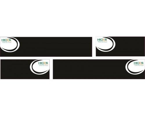 1:50 Decals - Jays Custom B-Double Trailer Set - Hicks Transport