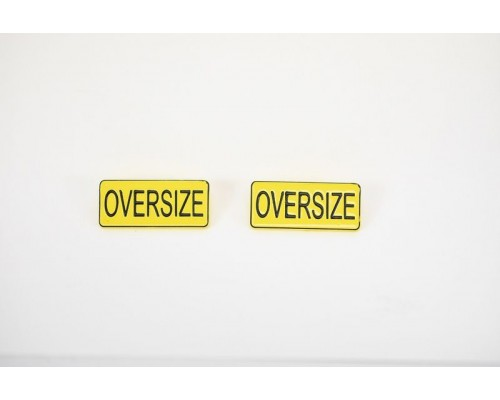 1:50 Scale Oversize Sign Set