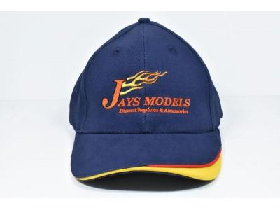 Jays Models Cap - Brushed Cotton with Custom Peak