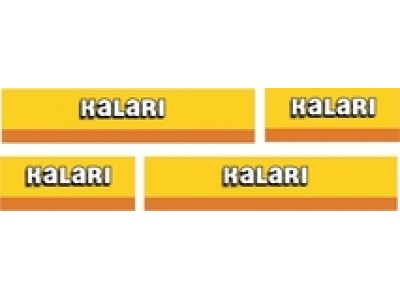 1:50 Decals - Jays Custom B-Double Trailer Set - Kalari Transport
