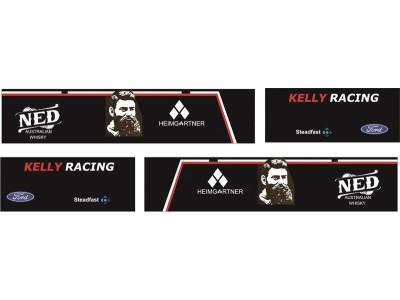 1:50 Decals - Jays Custom B-Double Trailer Set - Kelly Racing Team