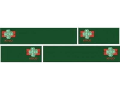 1:50 Decals - Jays Custom B-Double Trailer Set - Kitco Transport
