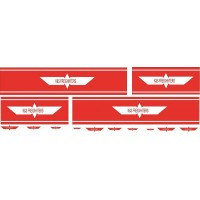 1:50 Decals - Jays Custom B-Double Trailer Set - K&S Freighters