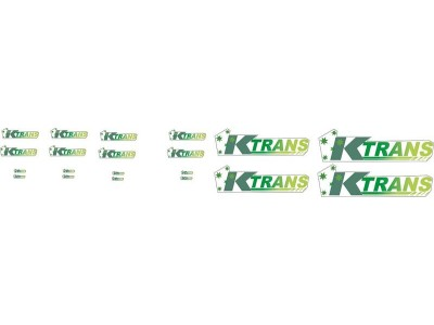 1:50 Decals - Jays Custom B-Double Trailer Set - KTRANS Transport