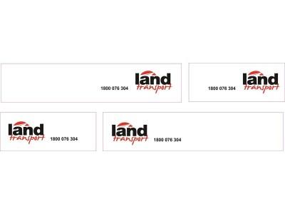 1:50 Decals - Jays Custom B-Double Trailer Set - Land Transport