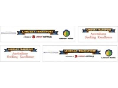 1:50 Decals - Jays Custom B-Double Trailer Set - Lindsay Transport
