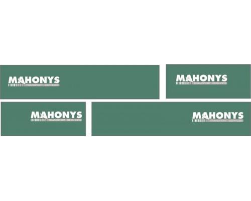 1:50 Decals - Jays Custom B-Double Trailer Set - Mahonys Transport service