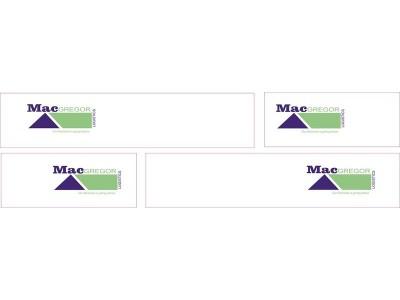 1:50 Decals - Jays Custom B-Double Trailer Set - MacGregor Logistics