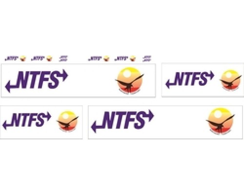 1:50 Decals - Jays Custom B-Double Trailer Set - NTFS Transport