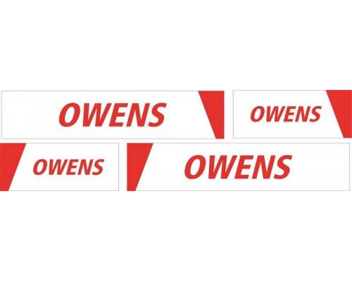 1:50 Decals - Jays Custom B-Double Trailer Set - Owens Transport