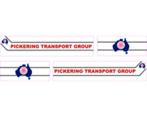 1:50 Decals - Jays Custom B-Double Trailer Set - Pickering Transport Group