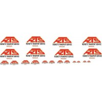 1:50 Decals - Jays Custom B-Double Trailer Set - Rodney Transport Services