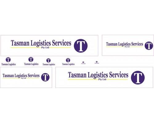 1:50 Decals - Jays Custom B-Double Trailer Set - Tasman Logistics Services