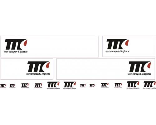 1:50 Decals - Jays Custom B-Double Trailer Set - Team Transport