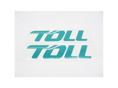 1:50 Scale Decal - TOLL Trailer Set - Large Green