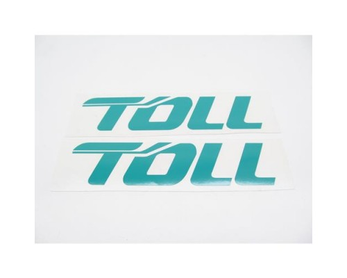 Decal  ( TOLL )  Trailer Decal Set  No.1
