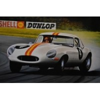 Jays Models Bob Jane's 1963 E-Type Jaguar Poster