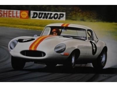 Bob Jane's 1963 E-Type Jaguar Poster