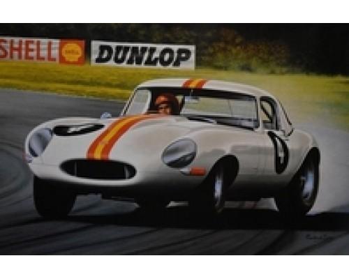 Jays Models Bob Jane's 1963 E-Type Jaguar Poster