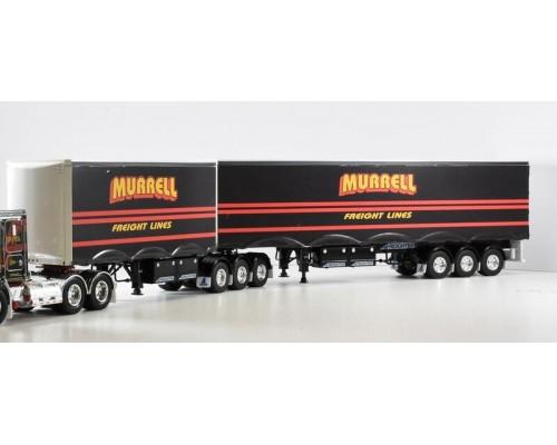 1:50 Decals - Jays Custom B-Double Trailer Set - Murrell Freight Line