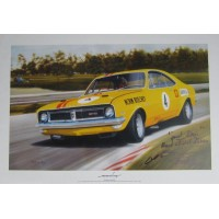 Jays Models Norm Beechey's Holden Monaro - Thunder at the Farm - Limited Edition Print