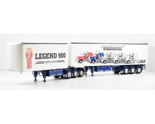 1:50 Decals - Jays Custom B-Double Trailer Set - Legend 900