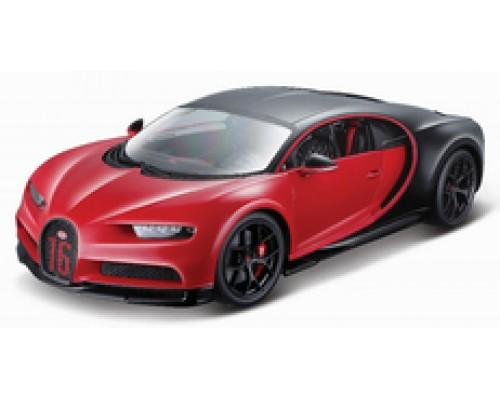 Burago 1:18 Bugatti Chiron Sport in Red #16