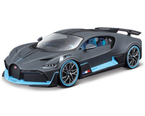 Burago 1:18 Bugatti Devo in Charcoal Grey and Blue